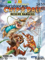 Chip and Dale es el tema de pantalla