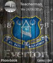 Everton Logo theme screenshot