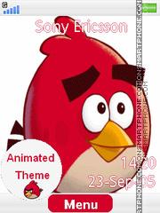 Angry Bird es el tema de pantalla
