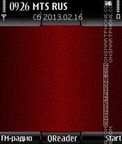 G-Red theme screenshot