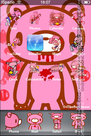 Pink Desktop theme screenshot
