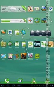 St Patricks Day tema screenshot