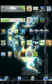 Thunder 02 tema screenshot