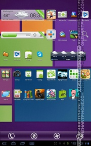 Windows 8 Purple tema screenshot