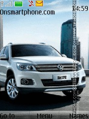 Volkswagen Tiguan theme screenshot