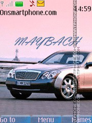 Maybach 64 theme screenshot