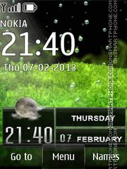 Bubbles Live theme screenshot