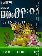 Winnie Live 01 theme screenshot