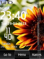 Sunflower Digital theme screenshot
