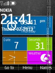 Lumia Style SWF theme screenshot