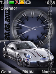 Porsche Theme-Screenshot
