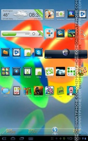 Xperia Home tema screenshot