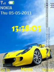 Скриншот темы Lotus Elise 02