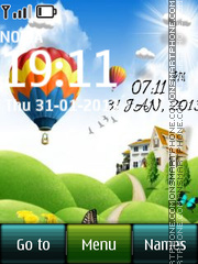 Balloon Digital theme screenshot