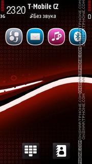 Black Red 02 es el tema de pantalla