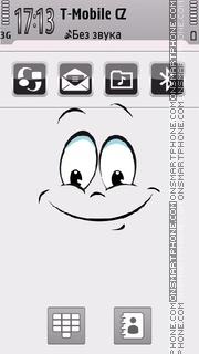 Happy Face 01 tema screenshot