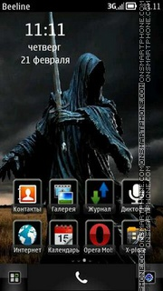Ringwraith theme screenshot