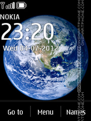 Space Dark 02 tema screenshot