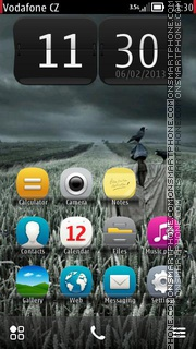 Scare Crow theme screenshot