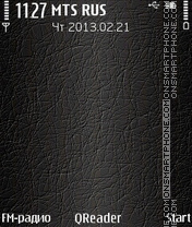 Skin theme screenshot