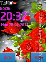 Abstract Flower es el tema de pantalla