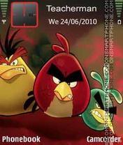 Capture d'écran 3 Angry Birds thème