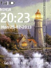 Lighthouse in art es el tema de pantalla