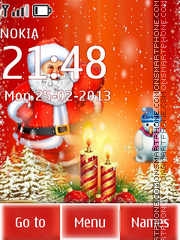 Santa 2015 theme screenshot