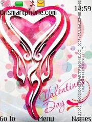 Valentine Theme theme screenshot