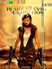 Resident Evil 06 theme screenshot
