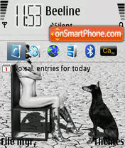 Lady & Dog theme screenshot
