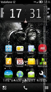 Dark Knight Rises 01 theme screenshot