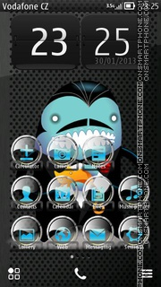 Funny Face 02 theme screenshot