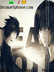 Death Note tema screenshot