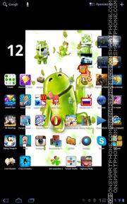 Eating Apple theme screenshot