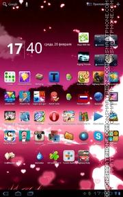 Happy Valentine 06 theme screenshot