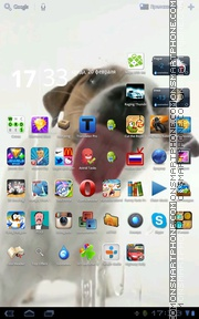 Dog Cleaning Screen theme screenshot