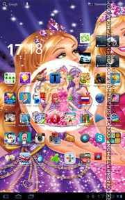 Barbie Doll 01 theme screenshot
