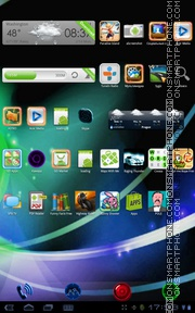 Neon Galaxy S3 tema screenshot