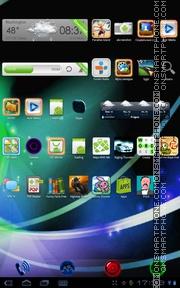 Capture d'écran Neon Galaxy S3 thème
