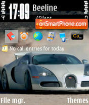 Bugatti 01 theme screenshot