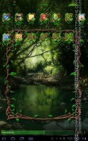 Скриншот темы Wild Wood