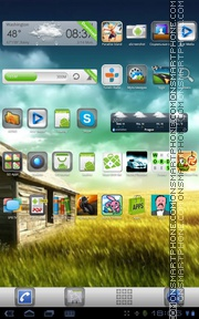 Plate Theme 01 theme screenshot