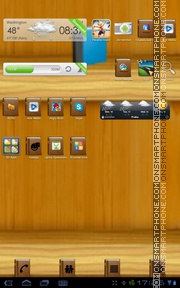 Bookshelf theme screenshot
