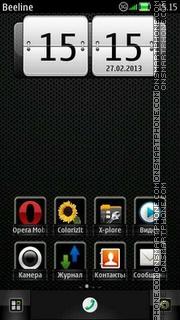 Steels theme screenshot