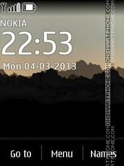 Sunrise 06 theme screenshot