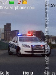Chevrolet Caprice Police Car theme screenshot