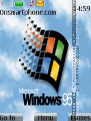Скриншот темы Windows 95