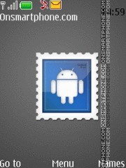 Android Stamp theme screenshot