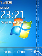 Windows SE7 En Theme-Screenshot